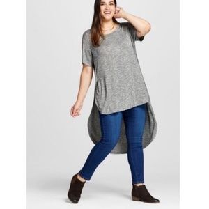 Ava and Viv high low tunic
